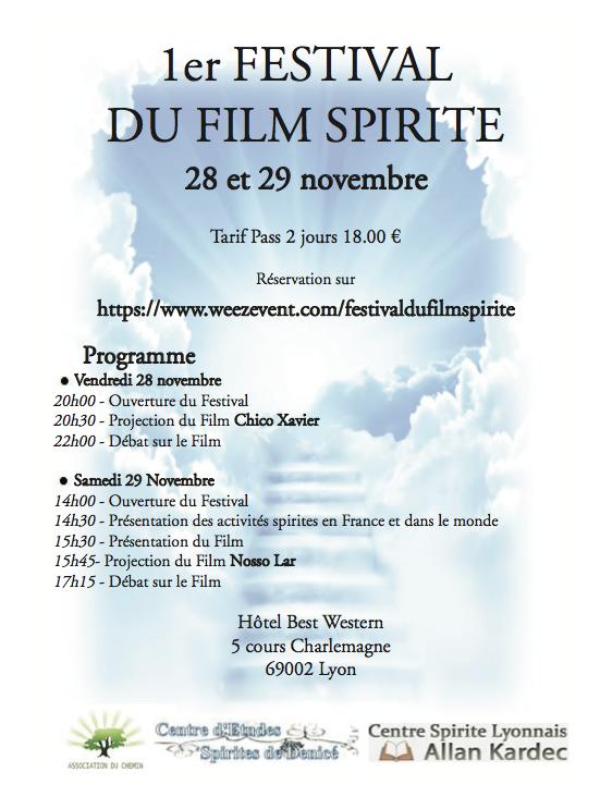 1er Festival du Film Spirite
