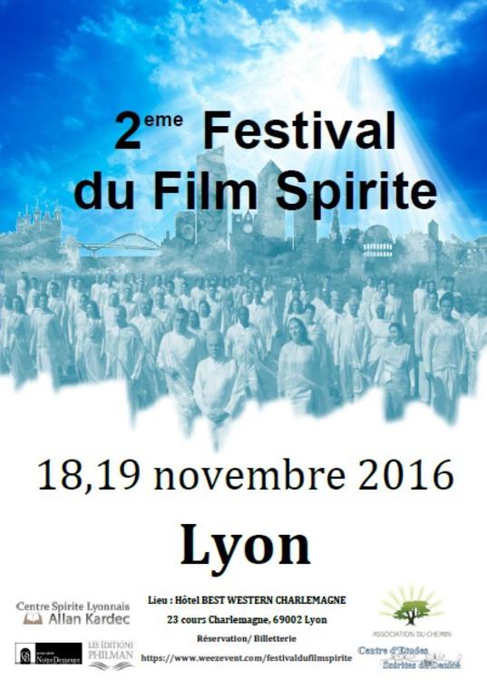 Affiche - Festival du Film Spirite